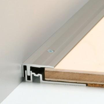Abschlussprofil für den schönen Übergang zwischen Boden und Fenster (40701-PS400 Abschlussprofil)