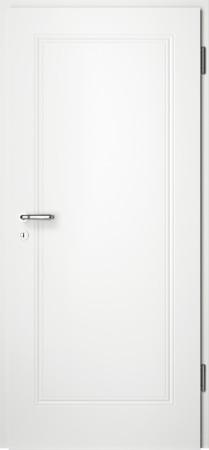 Weiße gefräste Tür Arto 10 ohne Glaseinsatz(Arto-10)