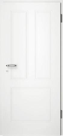 Weiße gefräste Tür Arto 31 ohne Glaseinsatz (Arto-31)