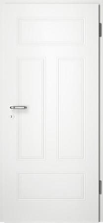 Weiße gefräste Tür Arto 41 ohne Glaseinsatz (Arto-41)