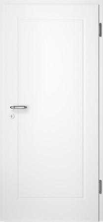 Weiße gefräste Tür Chello 10 ohne Glaseinsatz (Chello-10)