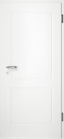 Weiße gefräste Tür Chello 20 ohne Glaseinsatz (Chello-20)