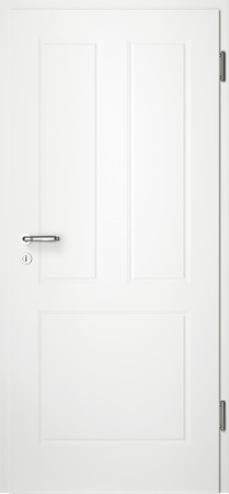 Weiße gefräste Tür Chello 31 ohne Glaseinsatz (Chello-31)
