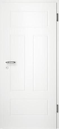 Weiße gefräste Tür Chello 41 ohne Glaseinsatz (Chello-41)