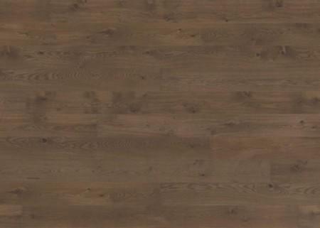 Eichenparkett in dunkelbrauner Rächeroptik, gebürstet und naturgeölt (MG-70203)