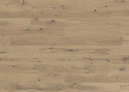 Eichenpakett in Rächeroptik, gebürstet und weiß geölt (MG-70204)