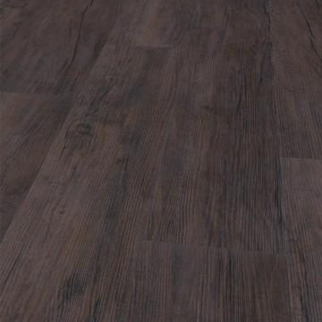Vinylboden in sehr dunklem braun, MG Eiche 13