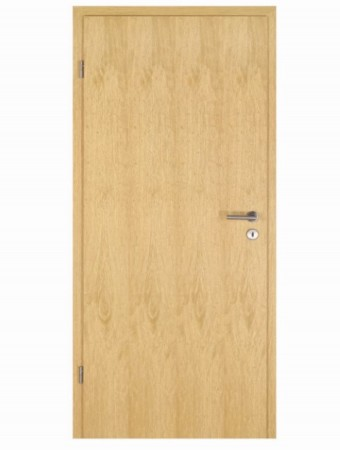 Echtholz-Furniertür Limba, streichfähig